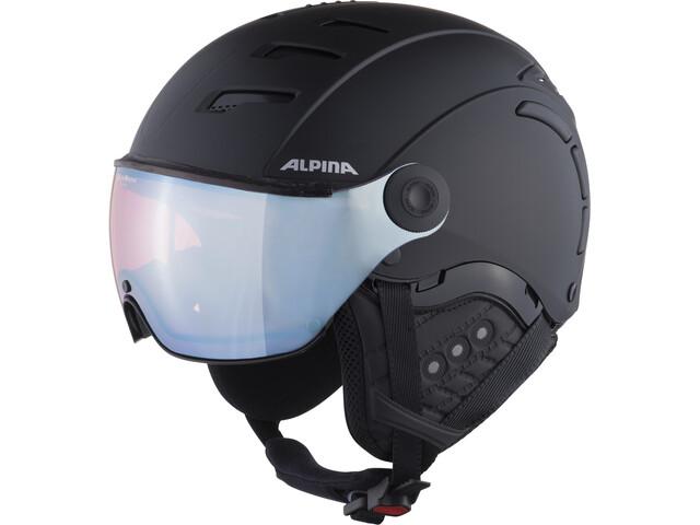 Alpina Jump 2.0 QVMM Hiihtokypärä, black matt silver